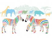 Colors of wild animals