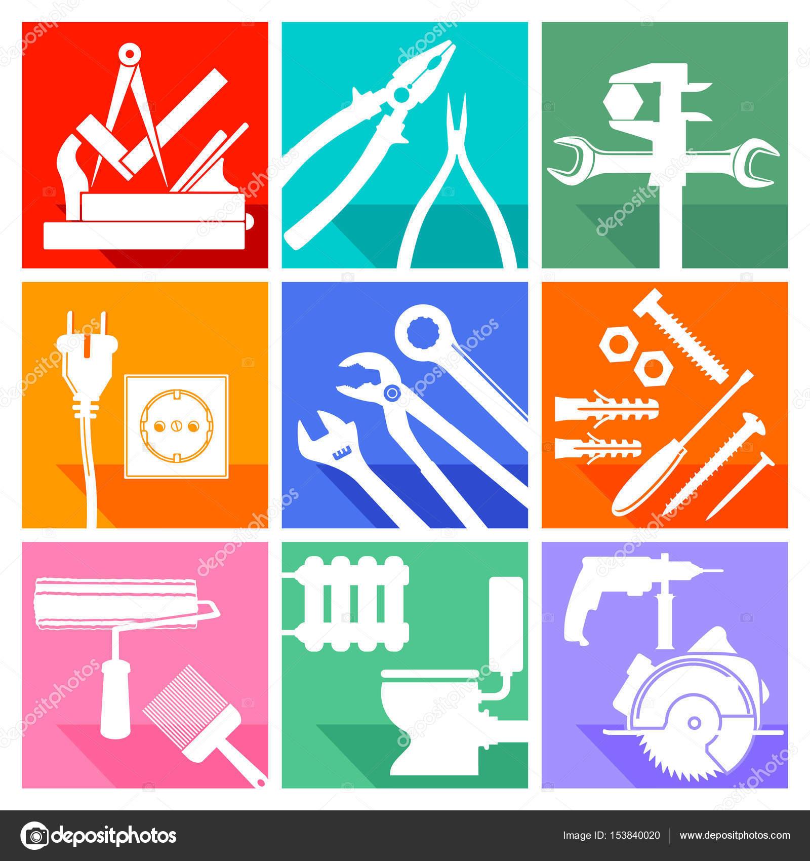 Tischler Zeichen werkzeug zeichen schlosser tischler schreiner maler klempner