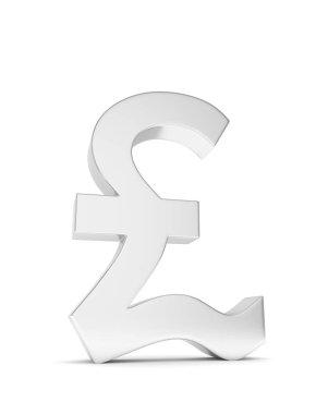 Silver pound sign
