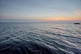 západ slunce nad Černého moře