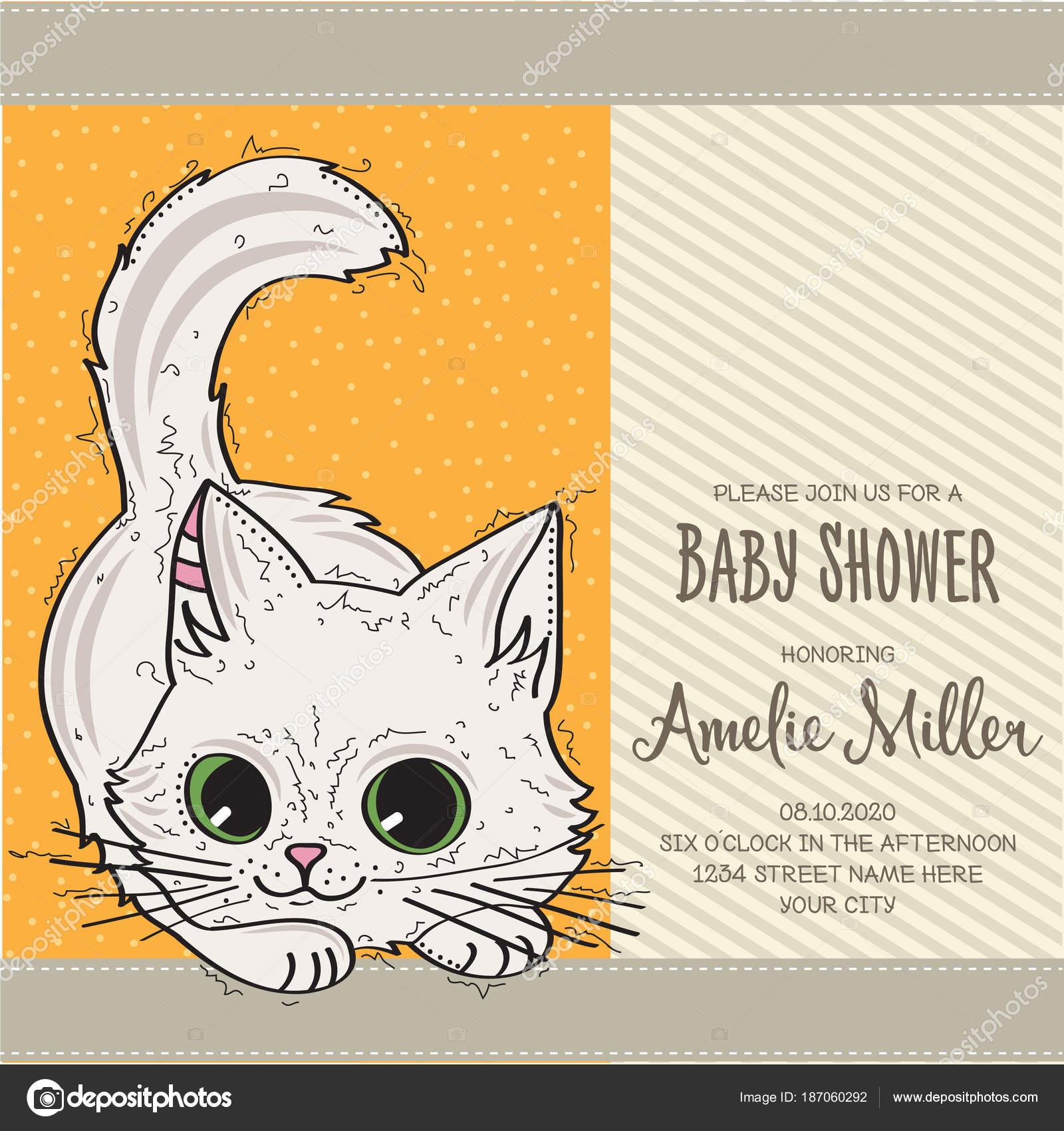 Tarjetas De Invitacion Virtuales Baby Shower Plantilla De