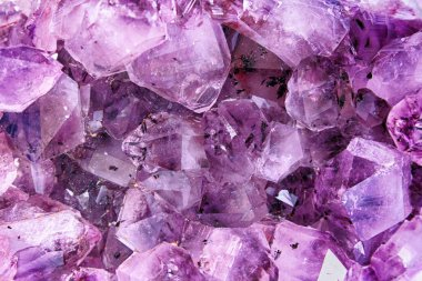 amethyst natural background