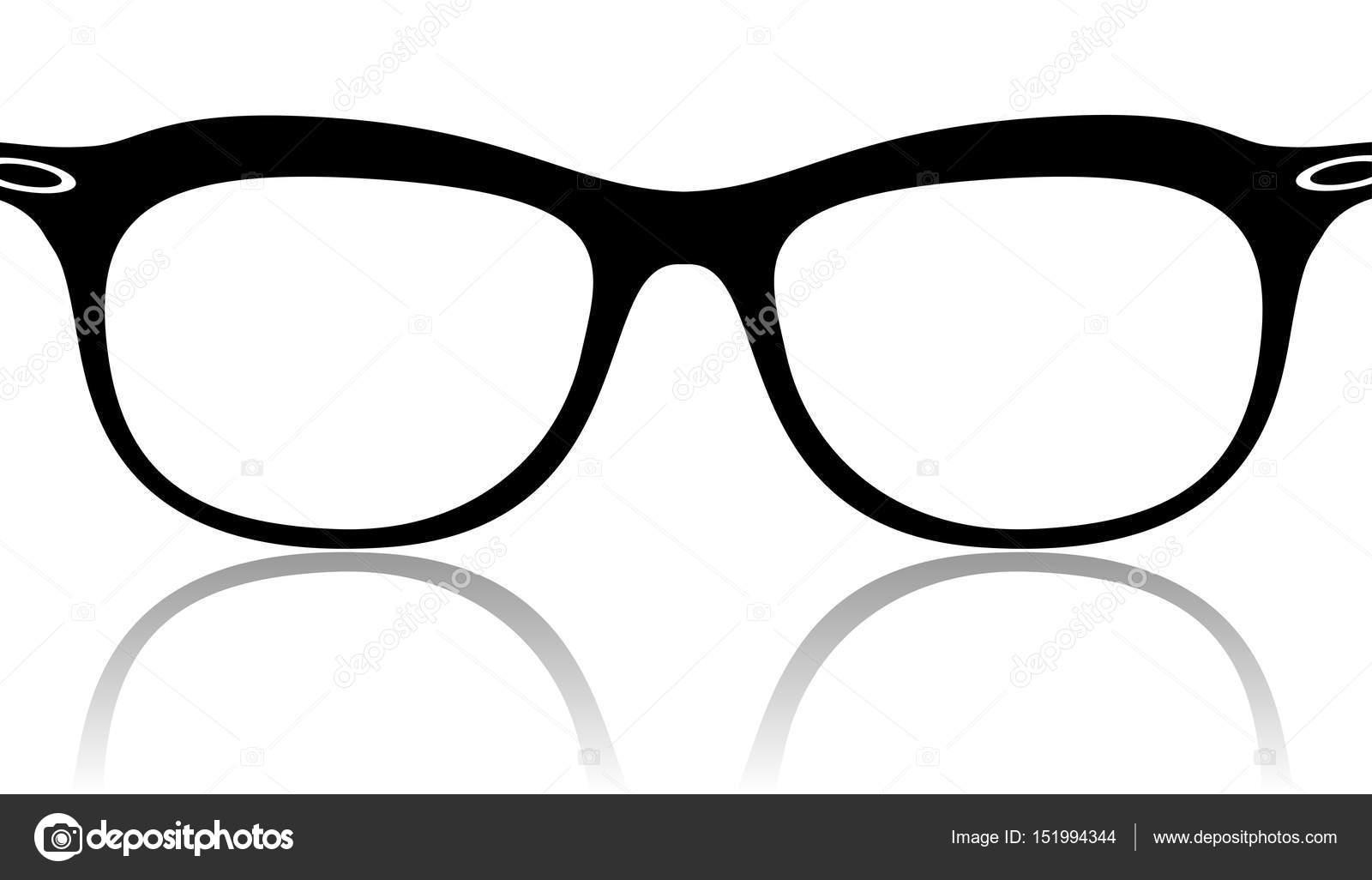 Marcos gafas negras — Vector de stock © leonardo255 #151994344