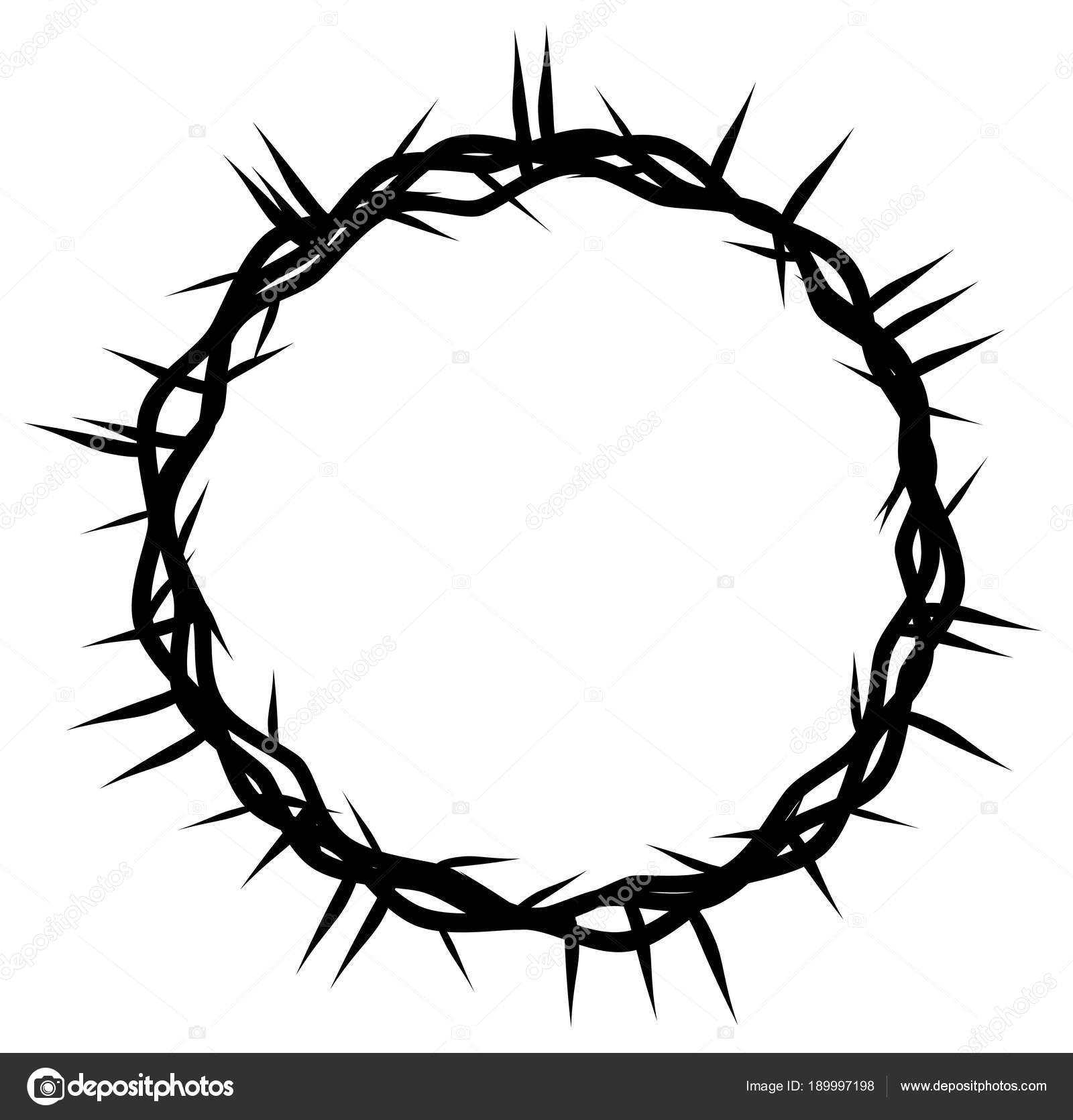 Imágenes Corona De Espinas Dibujo Corona Espinas Símbolo