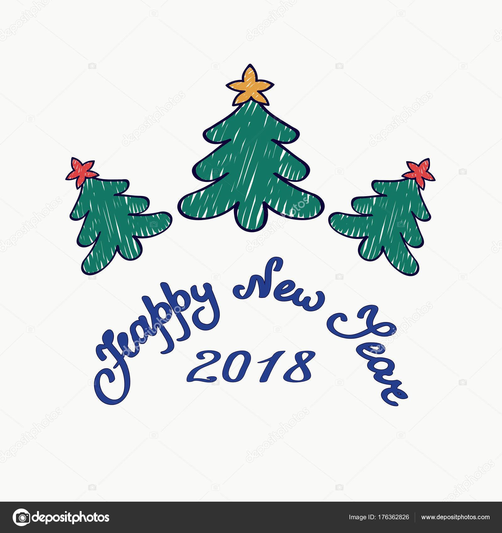 Dibujos De Arboles De Navidad Pintados.Dibujos Navidad Pintados Que Diga Feliz Navidad Tarjeta