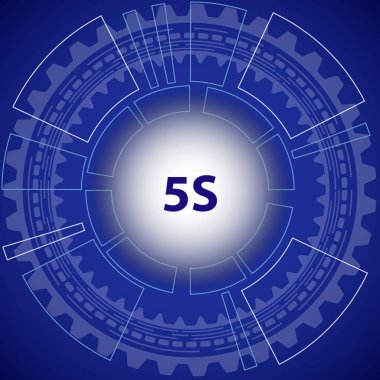 Five S strategy background