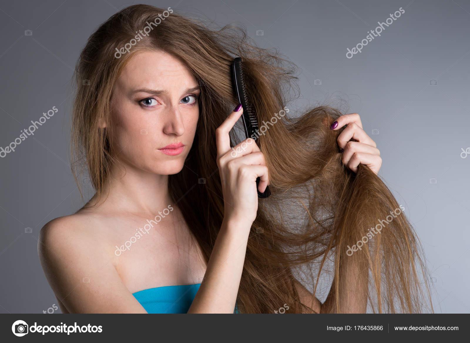 Como peinar el pelo largo mujer