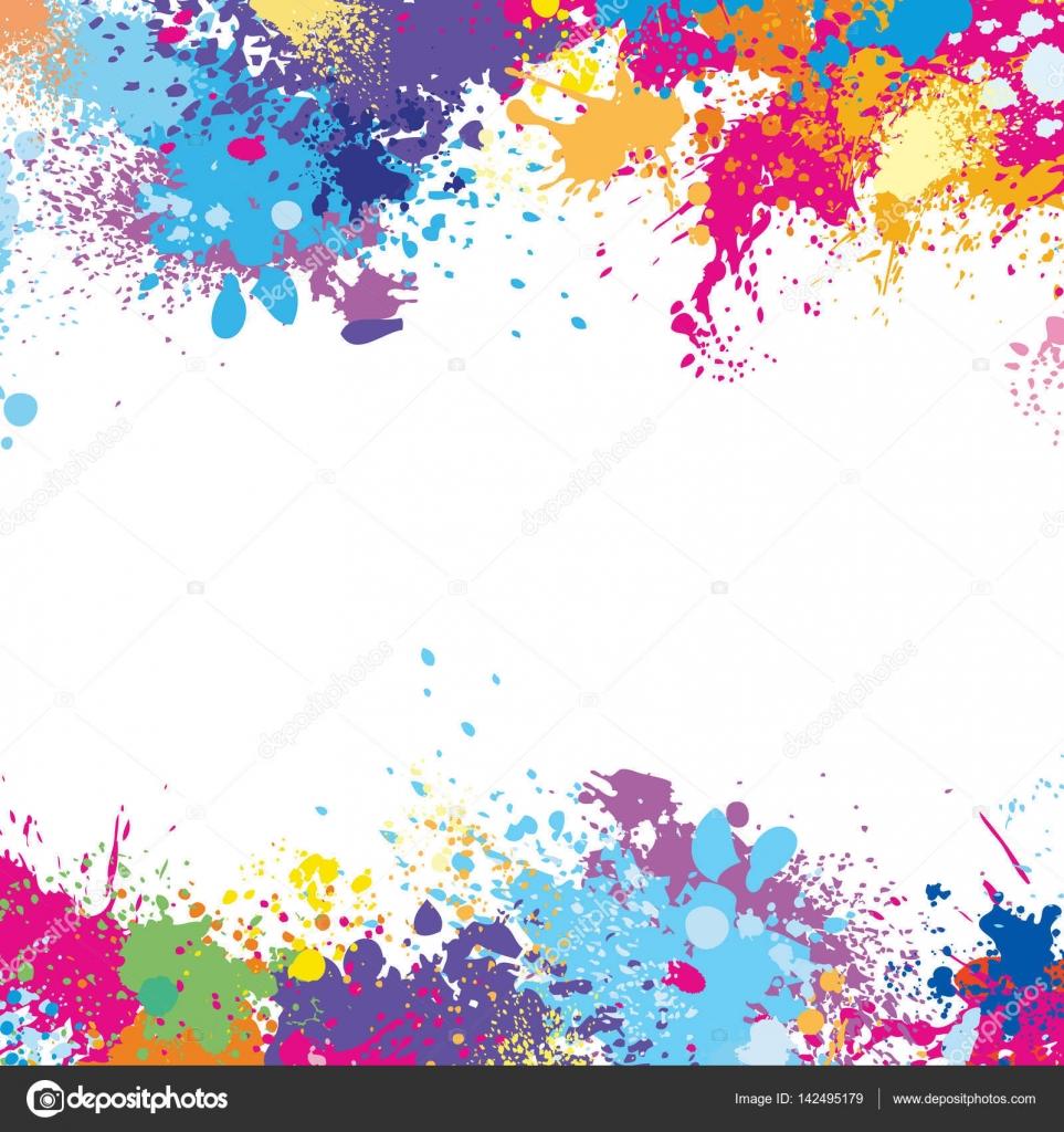 mod le de cadre faite de taches de peinture image vectorielle wikki33 142495179. Black Bedroom Furniture Sets. Home Design Ideas