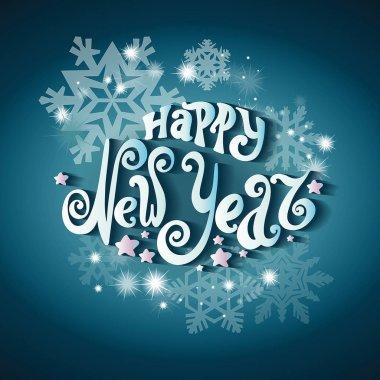 Celebratory background Happy New Year