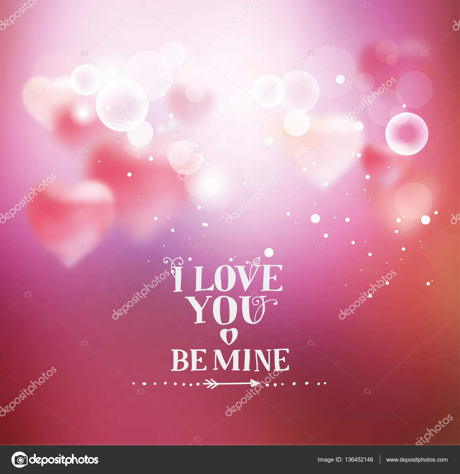 I love you calligraphic font hand drawing pink boke achtergrond met hart voor valentijnsdag sjabloon voor wenskaarten verklaring van de liefde belettering i love you kalligrafische lettertype voltagebd Choice Image