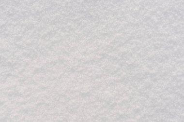 white texture snow lies outside
