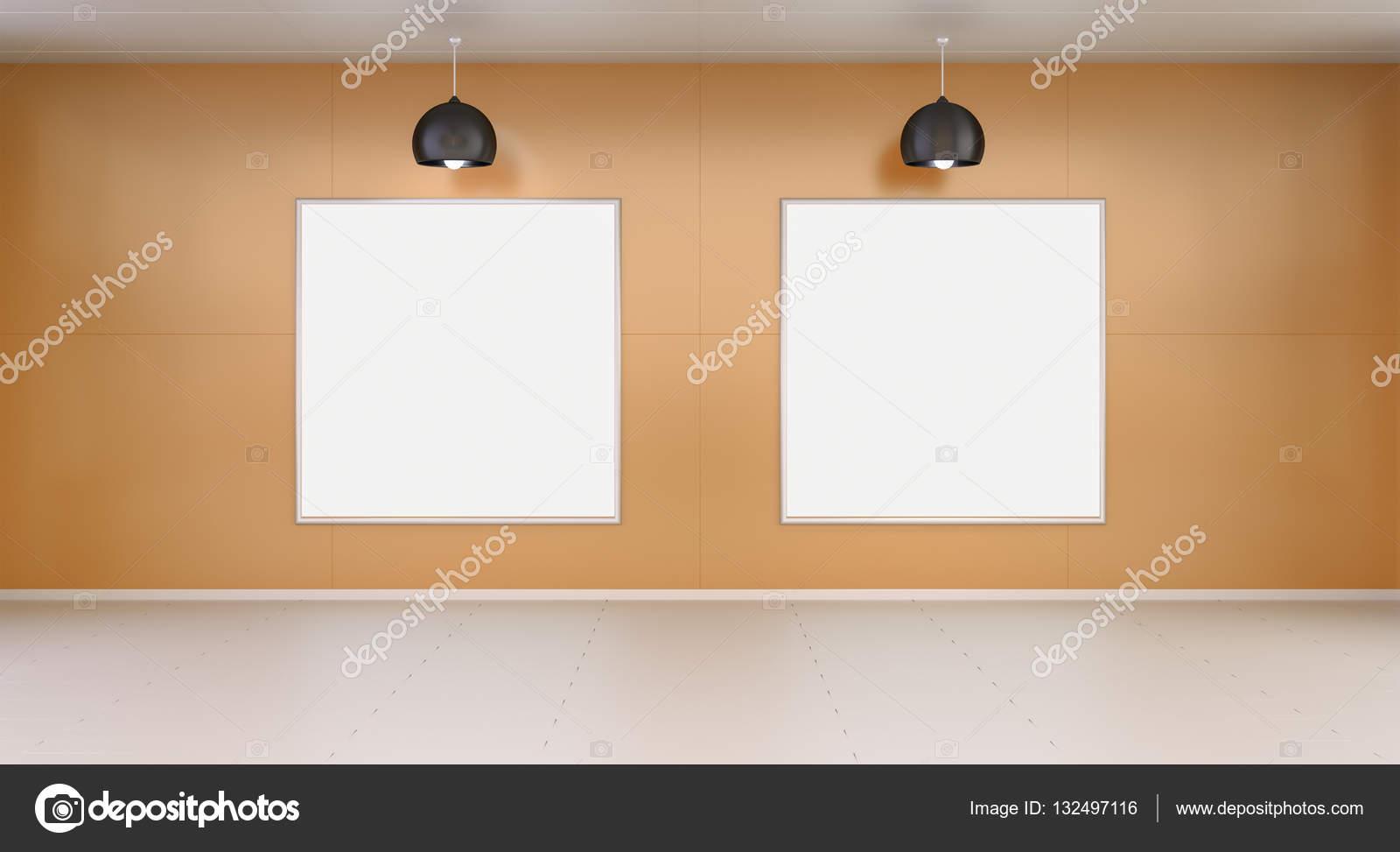 Pareti In Tela : Stanza con tela che appende alle pareti rappresentazione d