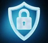 Modern digitális adatok pajzs víruskereső 3d-leképezés