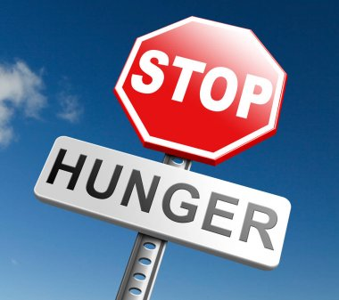 stop hunger sign