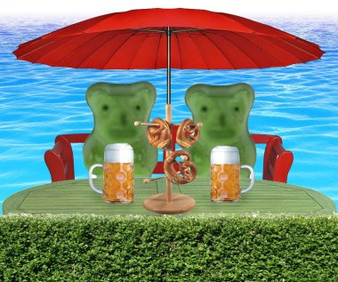 Gummy bear picnic