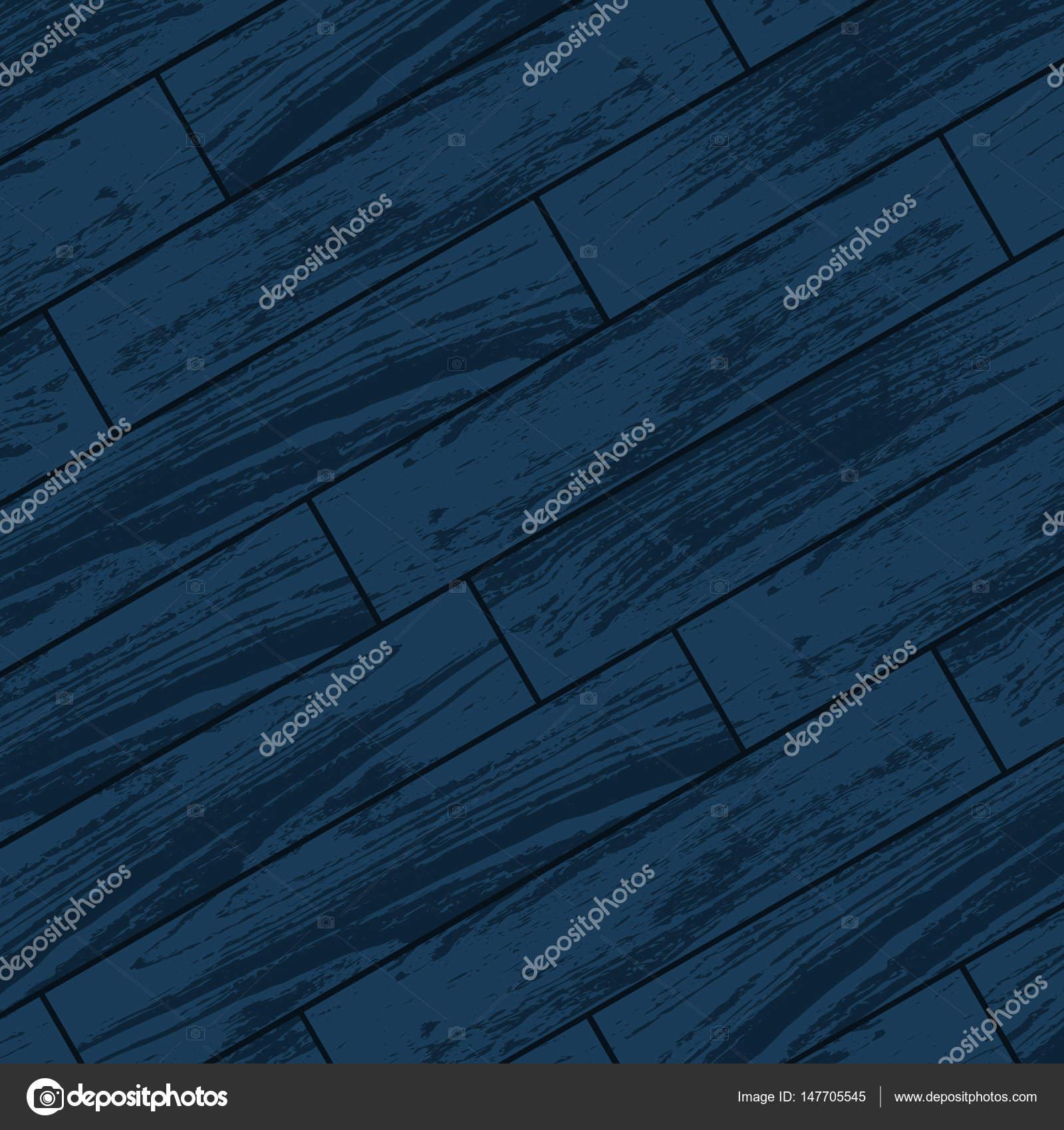 Extremement Parquet en bois bleu foncé — Image vectorielle longquattro TE-68