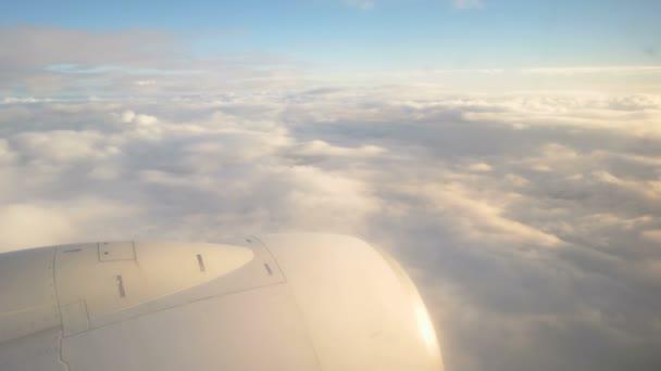 Fliegen im Düsenflugzeug