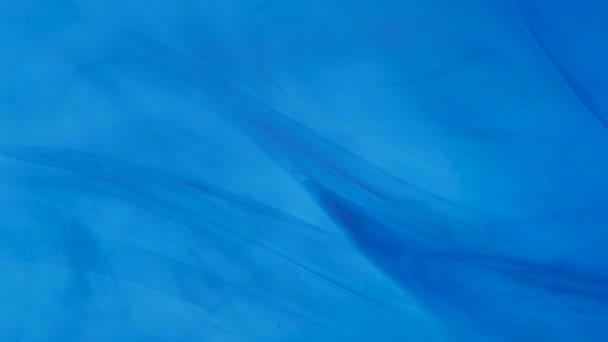 Abstract Blue Color Liquid Backdrop