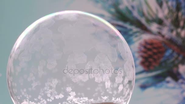 Hópehely karácsonyi hógömb