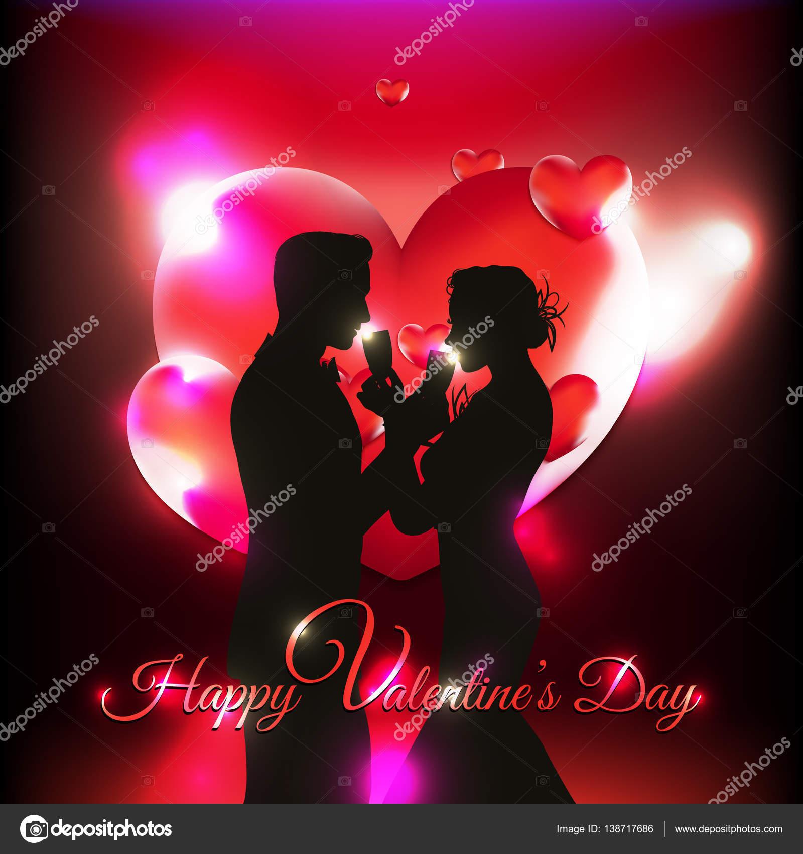 Imágenes Corazones En 3d Fondo De San Valentín Con Corazones 3d Y