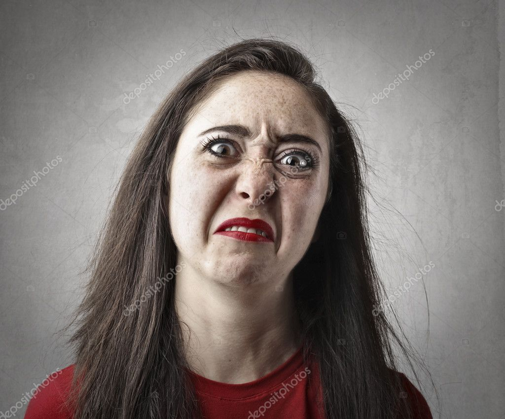 Woman Making A Disgusted Face Stock Photo C Olly18 126137640 Make your own images with our meme generator or animated gif maker. https depositphotos com 126137640 stock photo woman making a disgusted face html