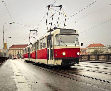 Urban public transport on railway