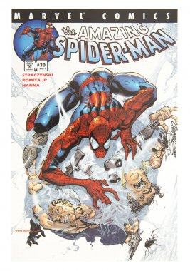 MARVEL Spider-Man Comic Book