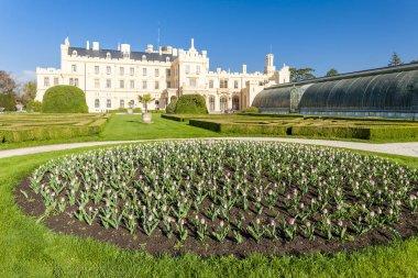 Lednice Palace with garden, Czech Republic