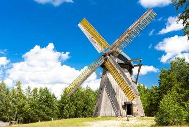 windmill, Kaszubski ethnographic park in Wdzydzki Park Krajobraz