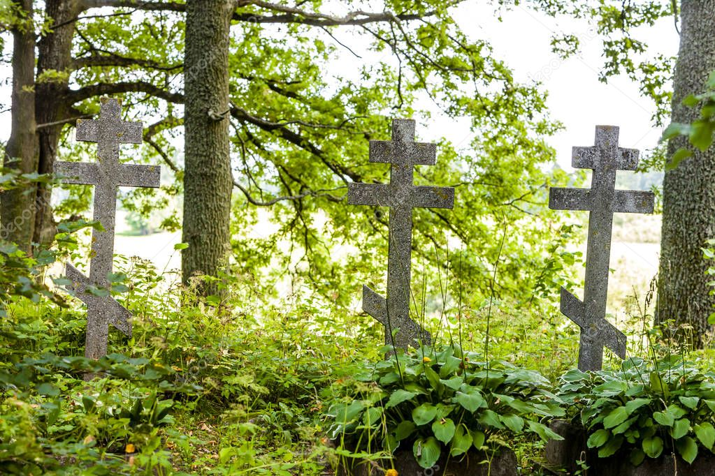 cemetery in campus of Wojnowo monastery