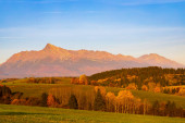 Photo Krivan in Hight Tatras, Slovakia
