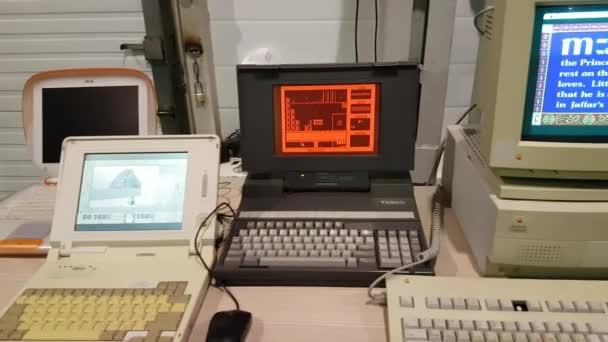 computer spiel retro vintage
