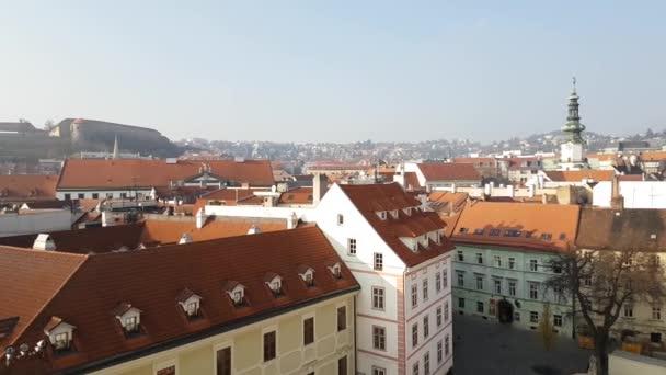 Staré město ciyscape z věže