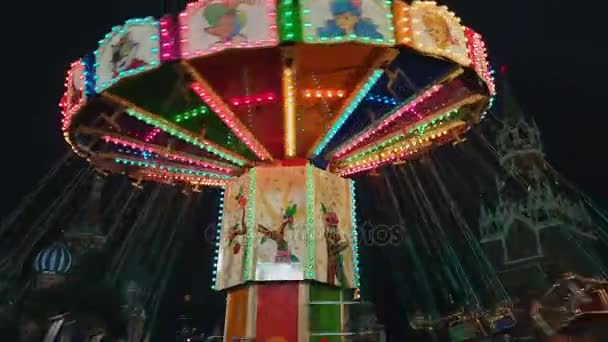 Carousel at christmas fair