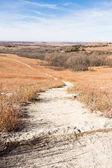 Flint Hills Prairie cesta v Kansasu