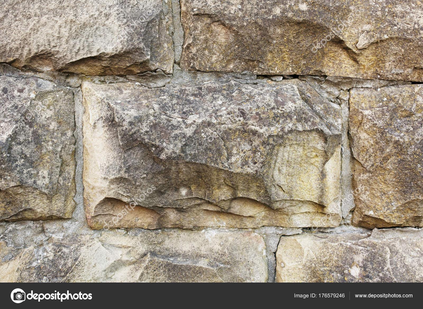 Fachada De Piedra Natural Textura De Piedra Fotos De Stock