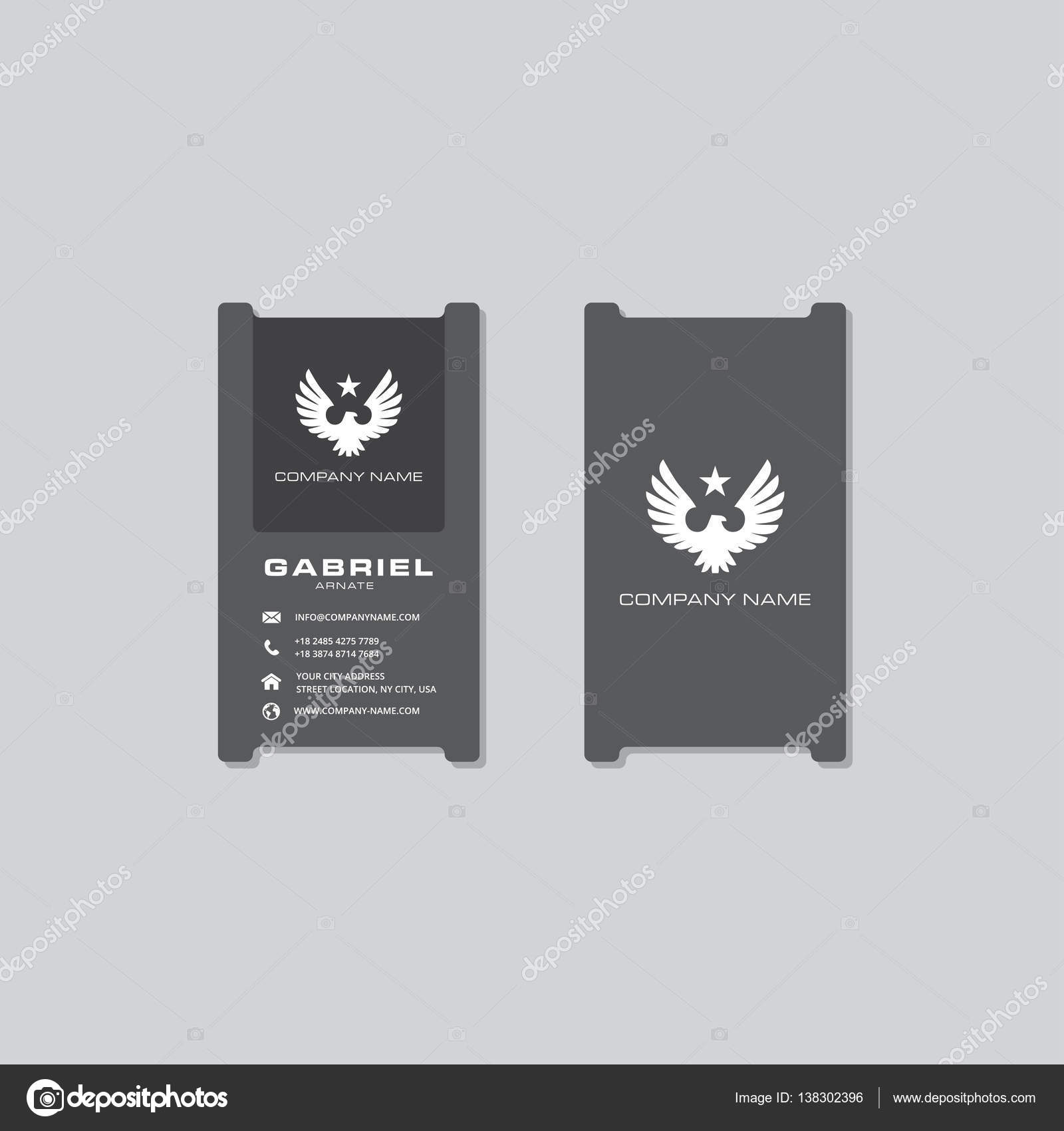Coole Moderne Id Card Design Stockvektor Prodesign481