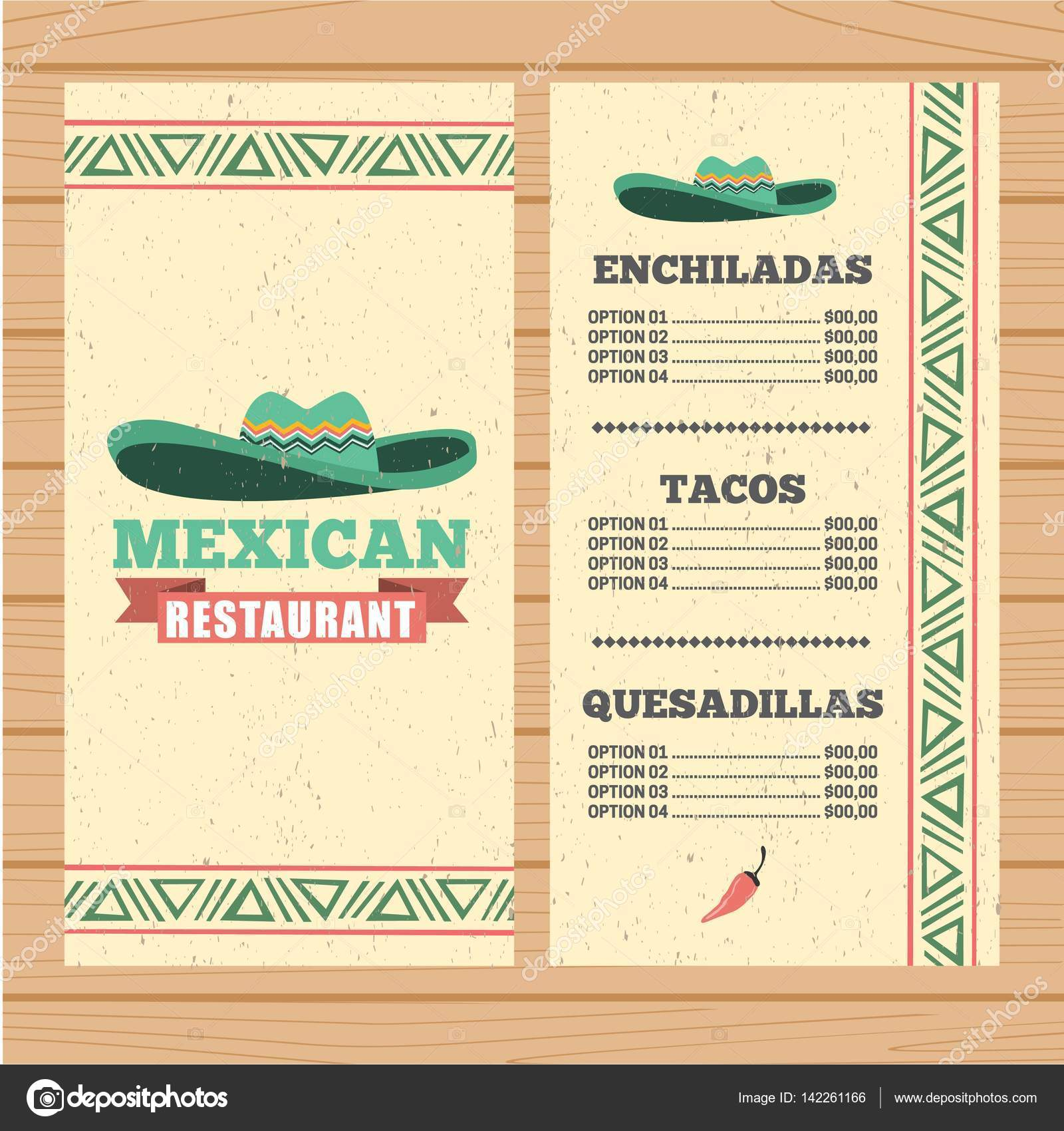 im u00e1genes  menu de restaurantes mexicanos