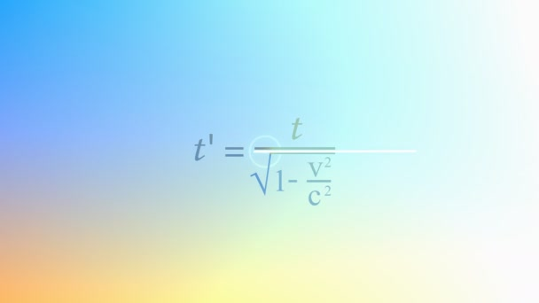 Mathematical equation background, Special relativity equation.