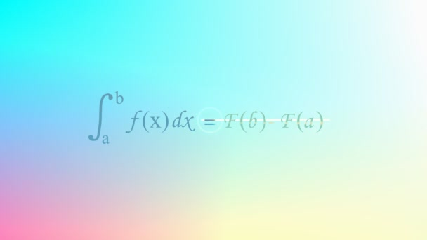 Mathematical equation background, Calculus equation.