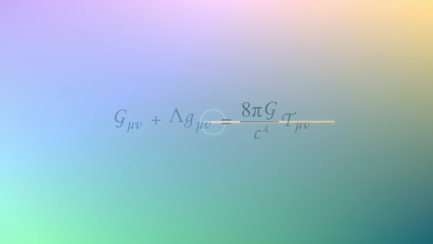 Mathematical equation background, General relativity equation.