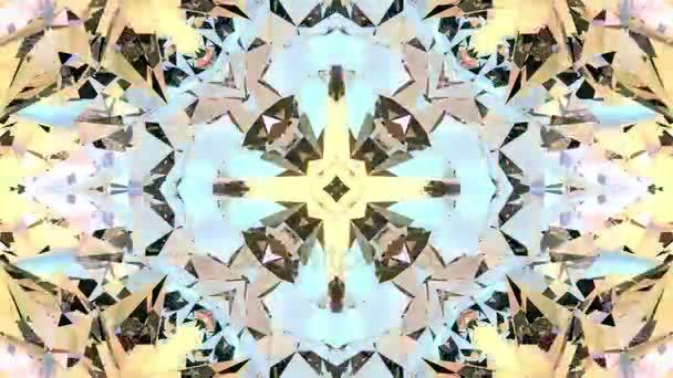 Abstraktní kaleidoskop animace