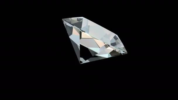 Rotierender Diamant 4k