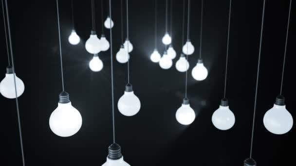 Žárovky. 3D animace