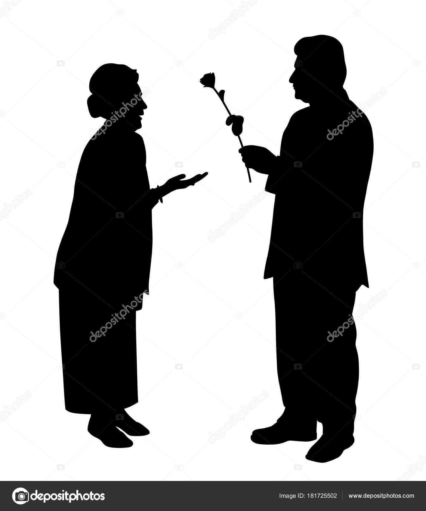 Datierung einer älteren Frau