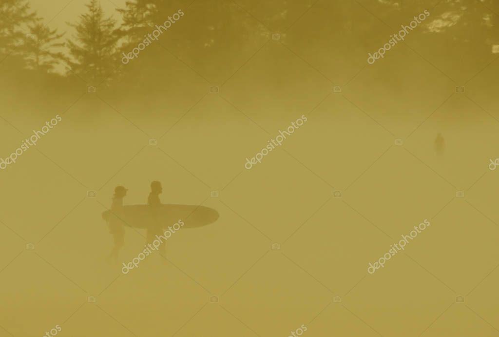 Orangecast Tofino Surfers