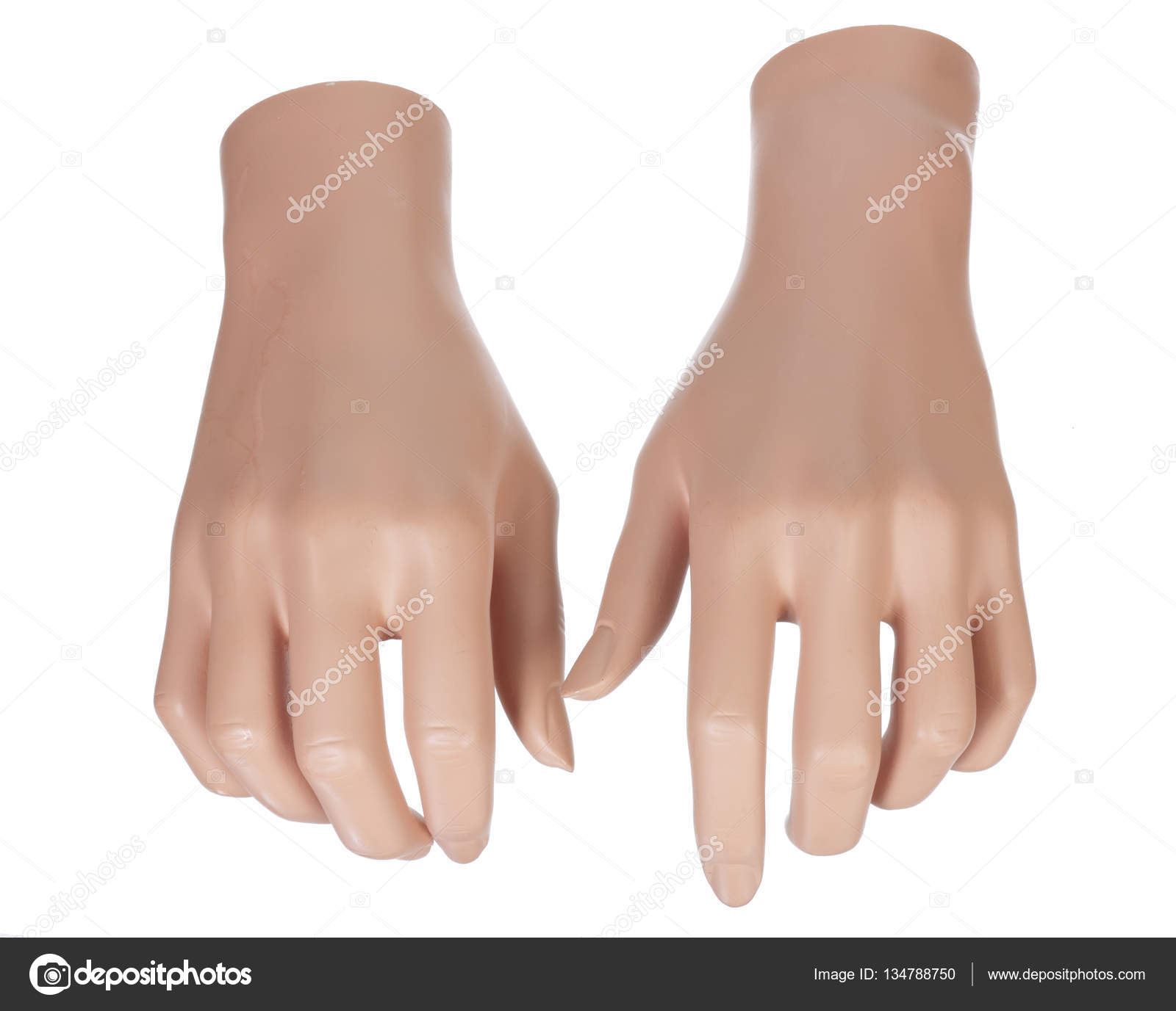 Pair of Mannequin Hands — Stock Photo © newlight #134788750
