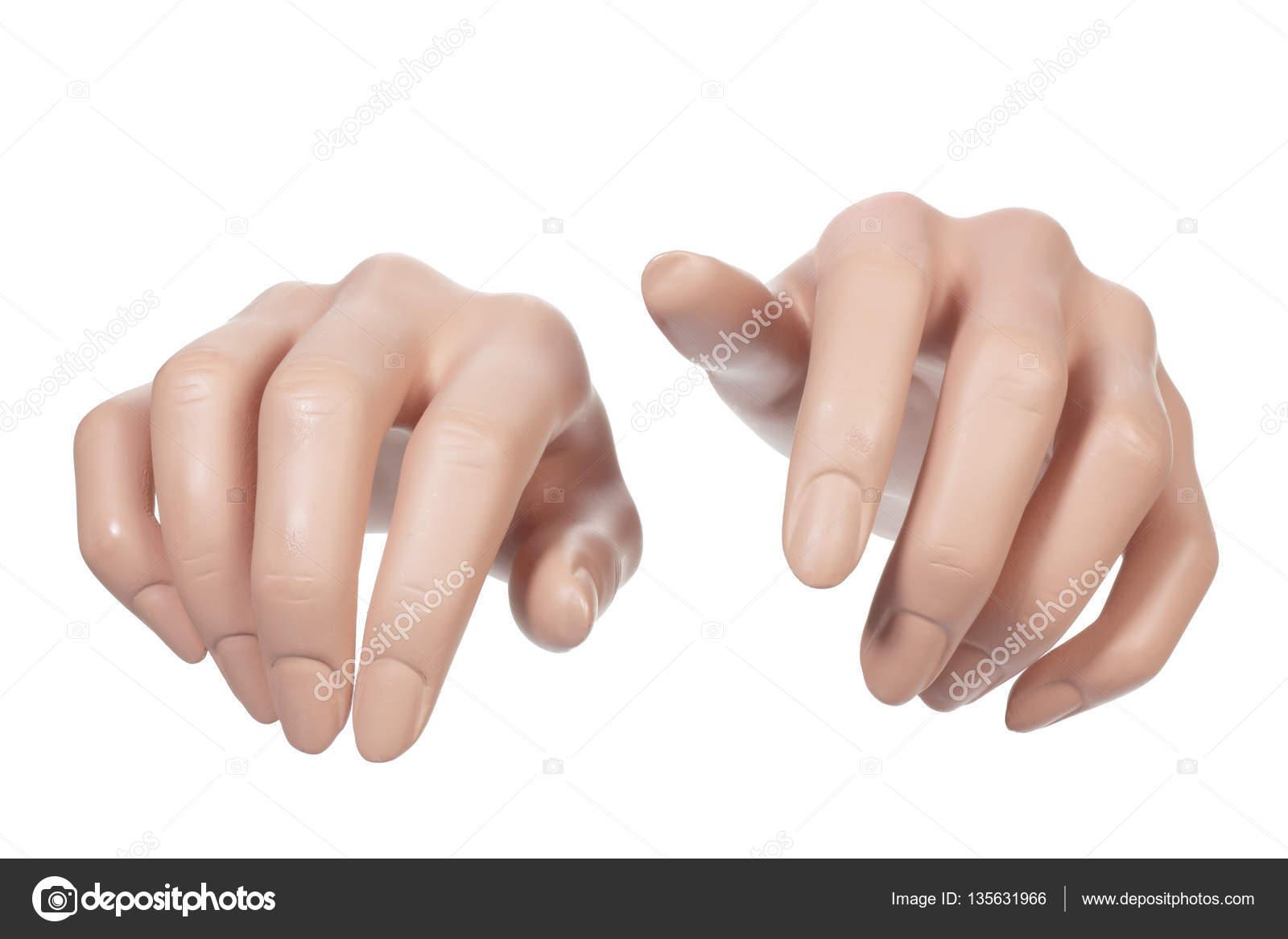 Pair of Mannequin Hands — Stock Photo © newlight #135631966