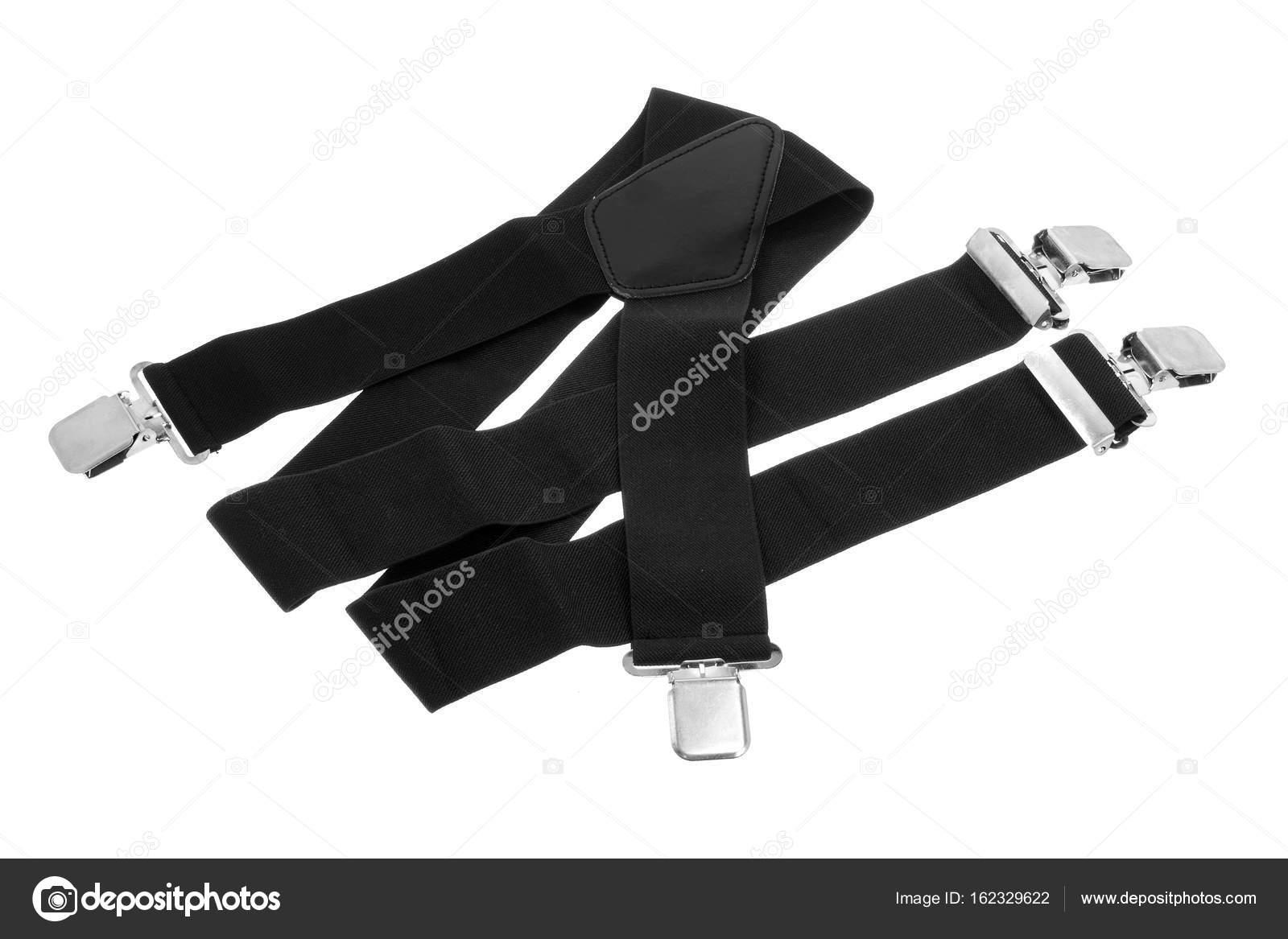 043cdac9b Black Trouser Braces — Stock Photo © newlight  162329622