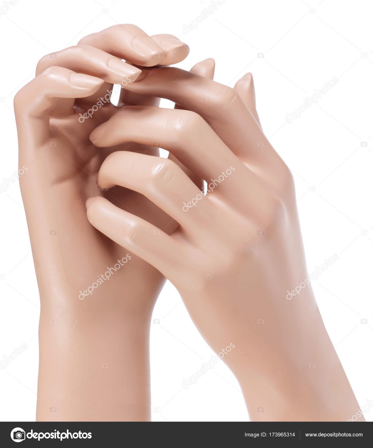 Pair of Mannequin Hands — Stock Photo © newlight #173965314